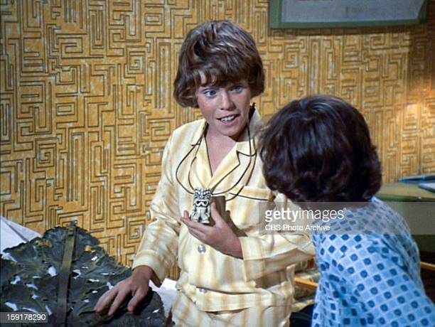 Mike Lookinland as Bobby Brady and Christopher Knight as Peter Brady in THE BRADY BUNCH episode Hawaii Bound Original air date September 22 1972...
