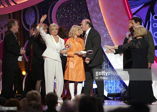 Mike Lookinland Christopher Knight Susan Olsen Florence Henderson Maureen McKormick Lloyd J Schwartz producer and Barry Williams winners Pop Culture...