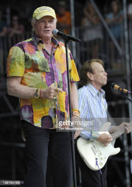 Mike Love and Al Jardine of The Beach Boys perform at Day 4 of the Bonnaroo Music And Arts Festival on June 10 2012 in Manchester Tennessee