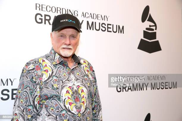 Mike Love attends The Drop: Mike Love at The GRAMMY Museum on December 4, 2017 in Los Angeles, California.
