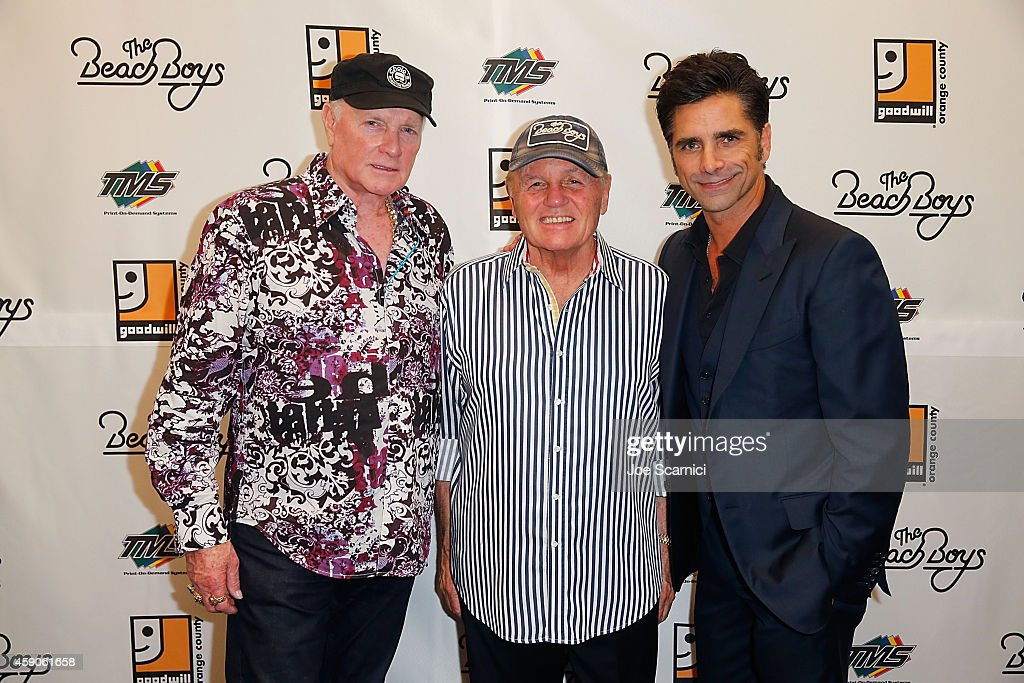 Goodwill Of Orange County Gala With John Stamos And The Beach Boys : News Photo