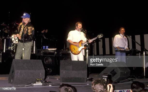 Mike Love, Carl Wilson, and Bruce Johnston