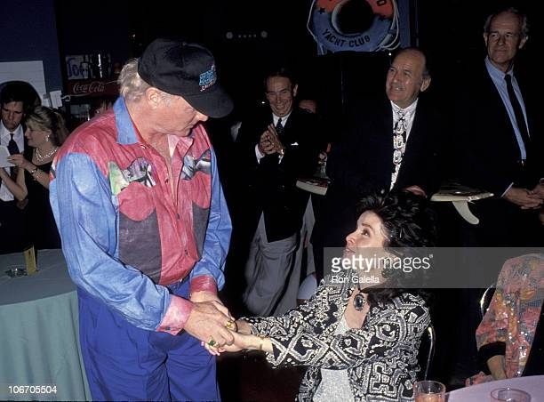 Mike Love of The Beach Boys and Annette Funicello during Party for Annette Funicello's Star On The Walk of Fame Boxed Musical Anthology at Hollywood...