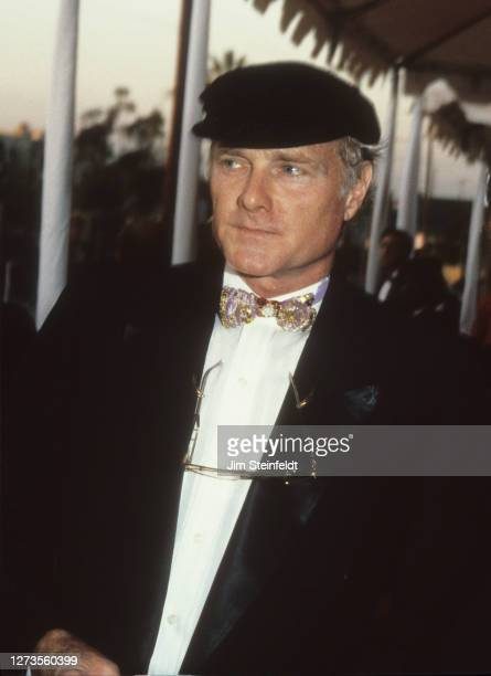 Mike Love of the Beach Boys at the Grammy Awards at the Shrine Auditorium in Los Angeles, California on February 22, 1989.