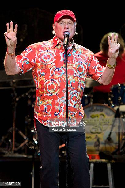 Mike Love of The Beach Boys during their performance at Oslo Spektrum on July 31 2012 in Oslo Norway