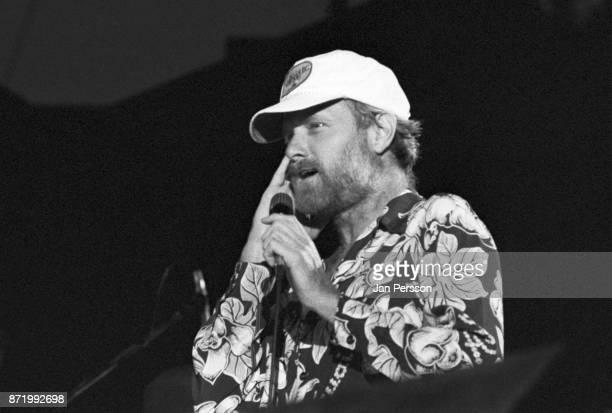Mike Love of The Beach Boys performing at Tivoli Gardens Copenhagen, Denmark, June 1980.