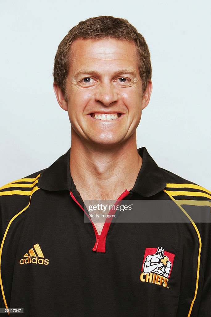 Mike Lovell, physio for the Waikato Chiefs, poses during a team portrait session December 12, 2005 in Hamilton, New Zealand.