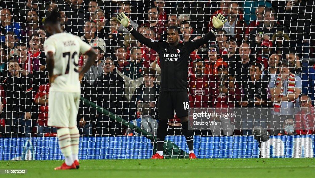 Liverpool FC v AC Milan: Group B - UEFA Champions League : News Photo