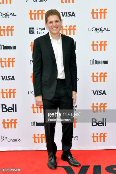 Mike Makowsky attends the Bad Education premiere during the 2019 Toronto International Film Festival at Princess of Wales Theatre on September 08...