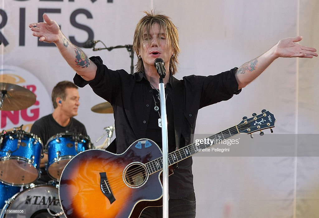 "Goo Goo Dolls Perform On ABC's ""Good Morning America"""