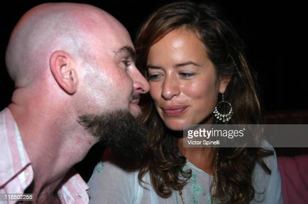 Mike Manumission and Jade Jagger during Manumission Week 11The Largest Party in the World at Privilege night club in Ibiza Spain