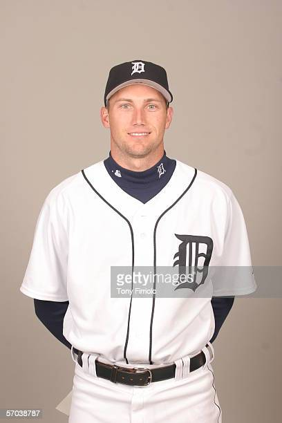 Mike Maroth of the Detroit Tigers during photo day at Marchant Stadium on February 26 2006 in Lakeland Florida