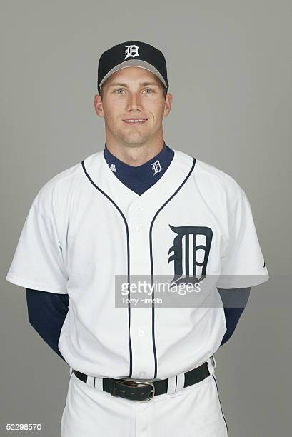 Mike Maroth of the Detroit Tigers poses for a portrait during photo day at Marchant Stadium on February 27 2005 in Lakeland Florida
