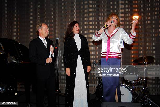 Mike Marshall Michaela Abrams and Barbara Streisand Impersonator attend The San Francisco Champagne Sparkling Wine Tasting and Auction SPARKLE SF a...