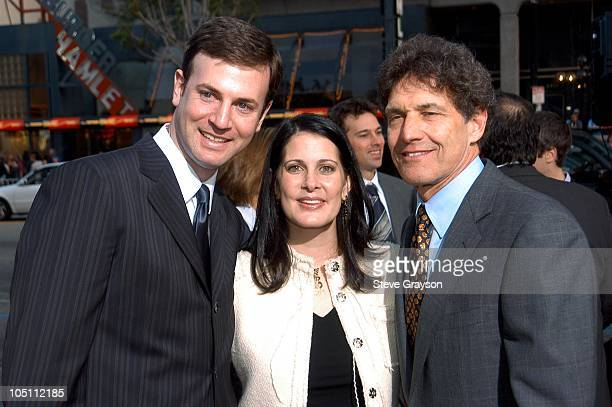 Mike Marz Cissy Marz and Alan Horn during Malibu's Most Wanted Los Angeles Premiere at Graumans Chinese Theater in Hollywood California United States