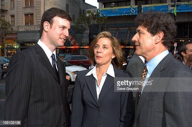 Mike Marz Dawn Taubin and Alan Horn during Malibu's Most Wanted Los Angeles Premiere at Graumans Chinese Theater in Hollywood California United States