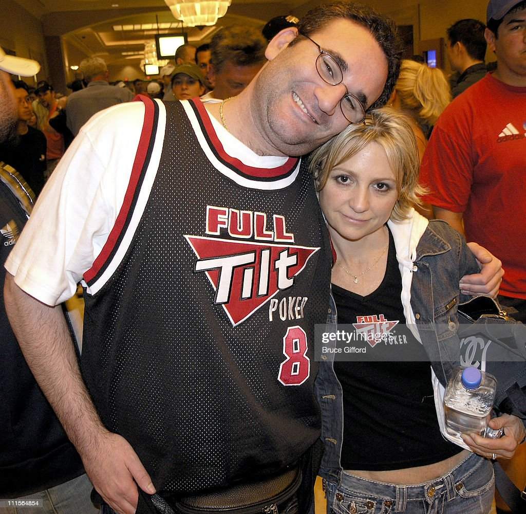 Mike Matusow and Jennifer Harman during 36th Annual World Series of Poker - No-Limit Hold'em at Rio Hotel in Las Vegas, Nevada, United States.