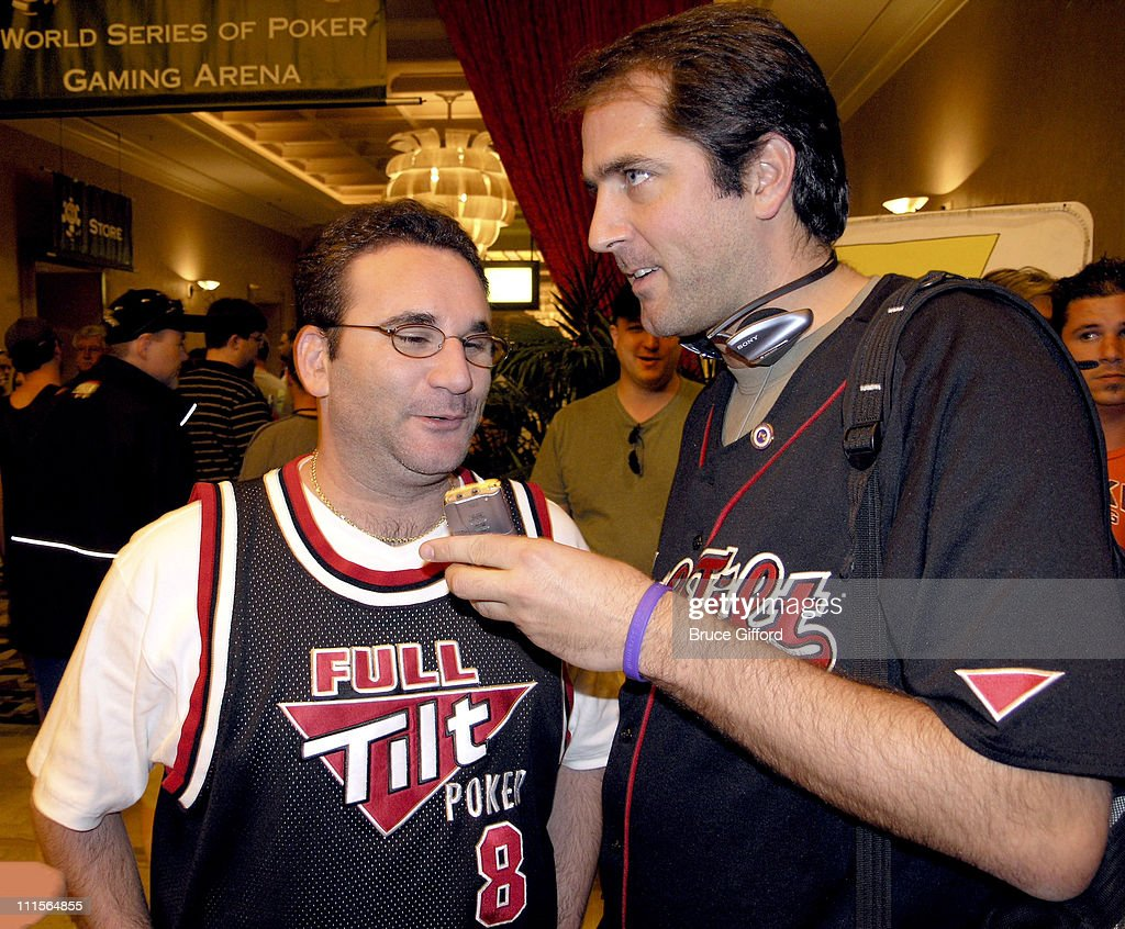 Mike Matusow and Phil Gordon during 36th Annual World Series of Poker - No-Limit Hold'em at Rio Hotel in Las Vegas, Nevada, United States.