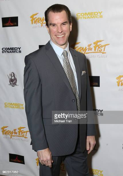 Mike McGlone attends the Los Angeles premiere of Comedy Dynamics' The Fury Of The Fist And The Golden Fleece held at Laemmle's Music Hall 3 on May 24...