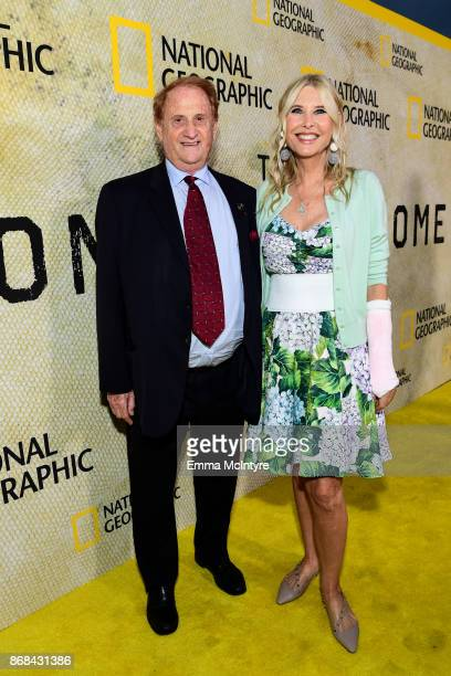 Mike Medavoy and Irena Medavoy attend the premiere of National Geographic's 'The Long Road Home' at Royce Hall on October 30 2017 in Los Angeles...