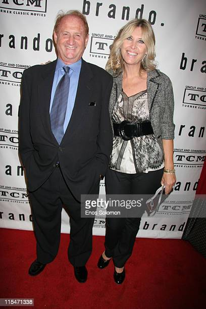 Mike Medavoy and Irena Medavoy during Brando Los Angeles Premiere Screening and Cocktail Party Hosted by Turner Classic Movies and Mike Medavoy at...