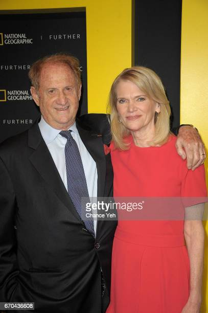 Mike Medavoy and Martha Raddatz attends National Geographic FURTHER FRONT at Jazz at Lincoln Center's Frederick P Rose Hall on April 19 2017 in New...