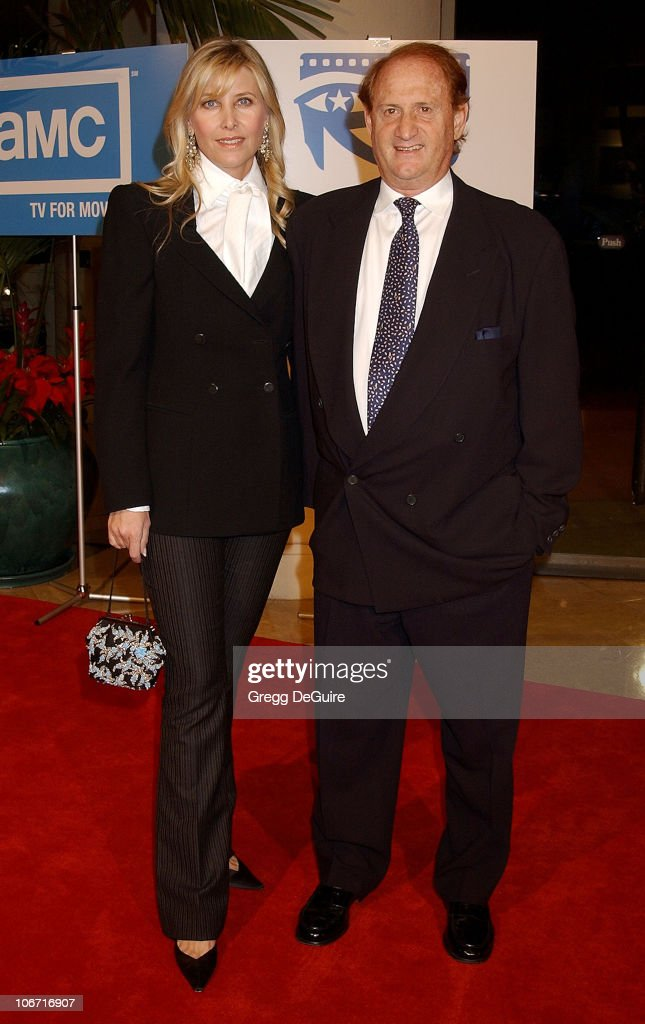 Mike Medavoy & guest during The 17th Annual American Cinematheque Award Honoring Denzel Washington at Beverly Hilton Hotel in Beverly Hills, California, United States.