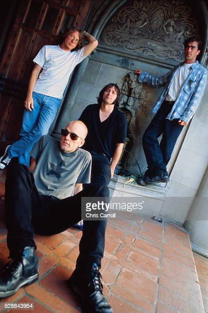 Mike Mills Michael Stipe Peter Buck and Bill Berry of REM
