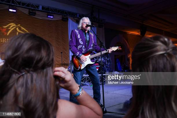 Mike Mills performs onstage during the 145th Kentucky Derby Unbridled Eve Gala at The Galt House Hotel Suites Grand Ballroom on May 03 2019 in...