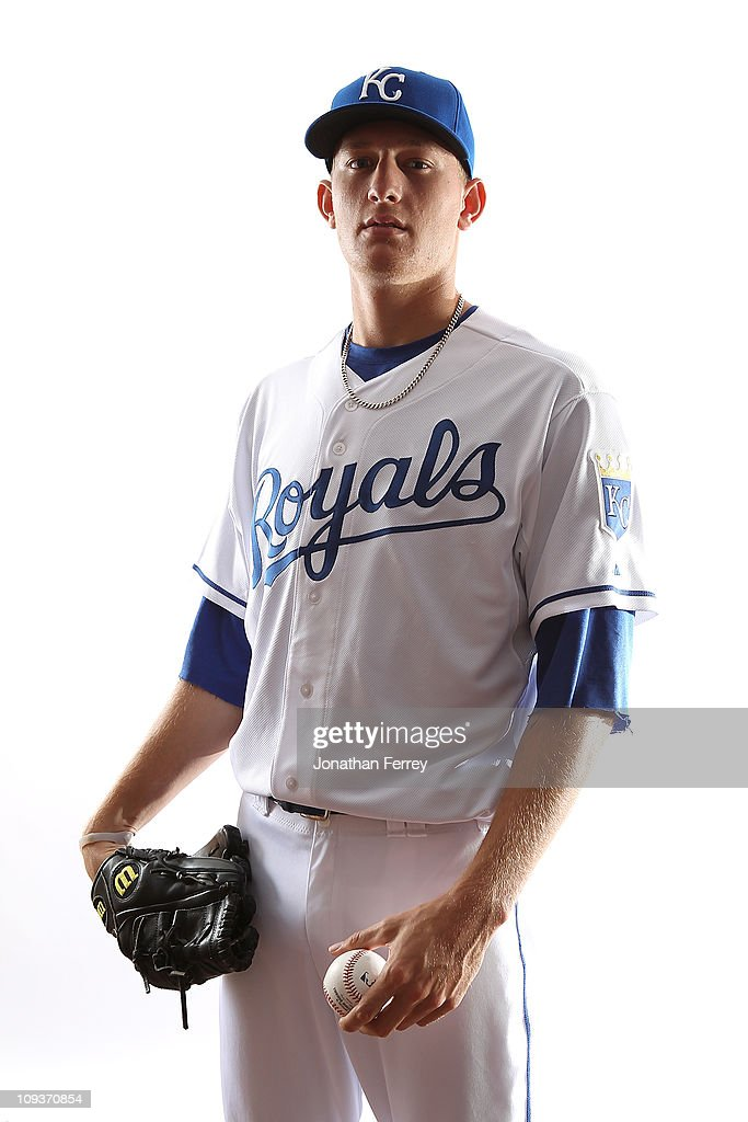 Mike Montgomery #65 of the Kansas City Royals poses for a portrait during Spring Training Media Day on February 23, 2011 at Surprise Stadium in Surprise, Arizona..