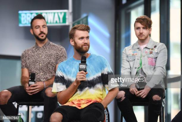 Mike Murphy Etienne Bowler and Marc Campbell of MisterWives visit Build Series to discuss their latest album Connect The Dots at Build Studio on...