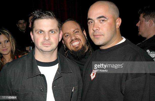 Mike Mushok fromStain'd Fieldy from Korn and Aaron Lewis from Stain'd *Exclusive*