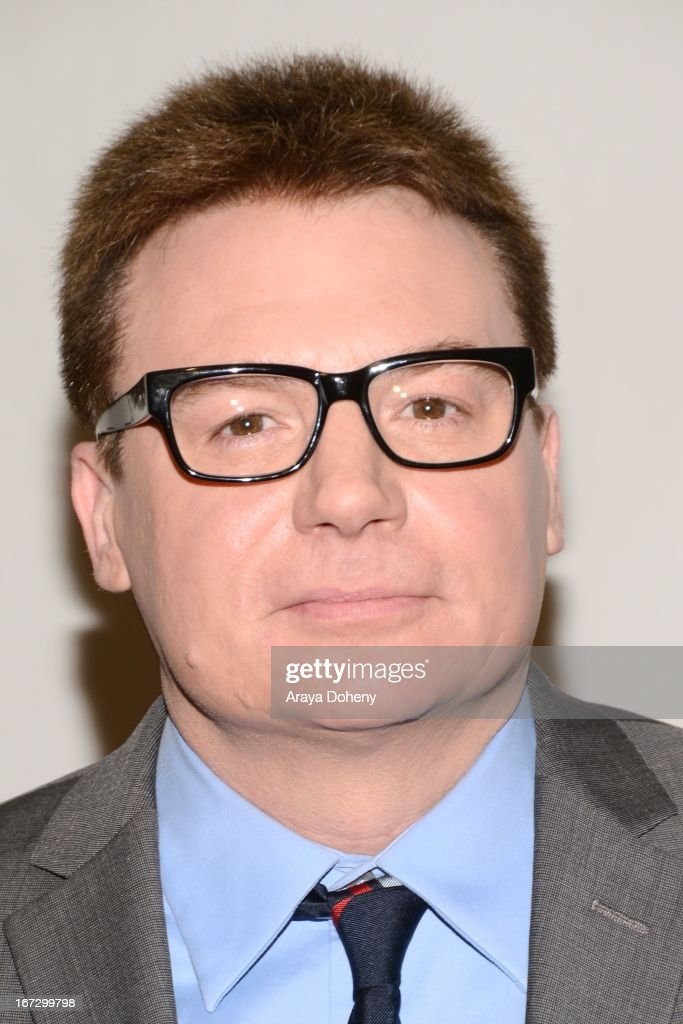 Mike Myers attends the Academy of Motion Picture Arts and Sciences hosts a 'Wayne's World' reunion at AMPAS Samuel Goldwyn Theater on April 23, 2013 in Beverly Hills, California.