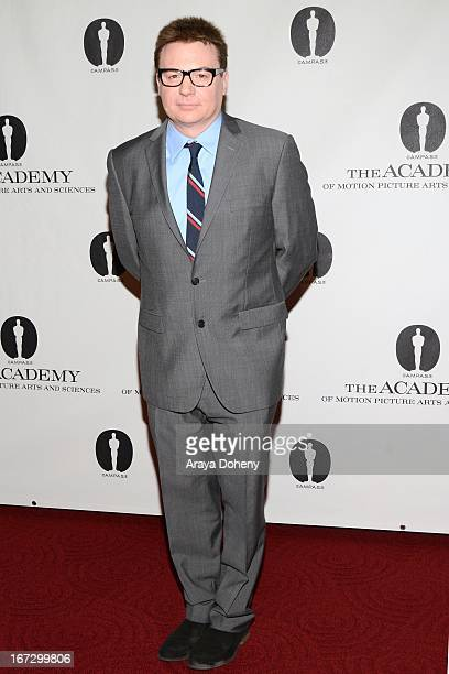 Mike Myers attends the Academy of Motion Picture Arts and Sciences hosts a Wayne's World reunion at AMPAS Samuel Goldwyn Theater on April 23 2013 in...