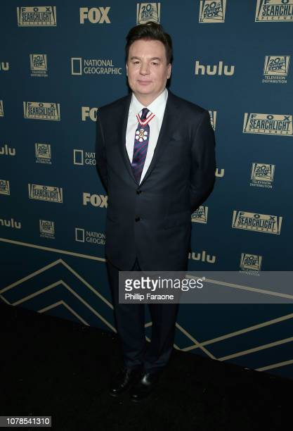 Mike Myers attends the FOX FX And Hulu 2019 Golden Globe Awards After Party at The Beverly Hilton Hotel on January 6 2019 in Beverly Hills California