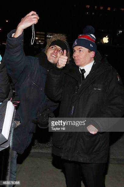 Mike Myers attends the Saturday Night Live 40th Anniversary Celebration After Party at The Plaza Hotel on February 15 2015 in New York City