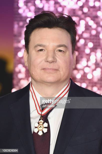 Mike Myers attends the World Premiere of 'Bohemian Rhapsody' at SSE Arena Wembley on October 23 2018 in London England