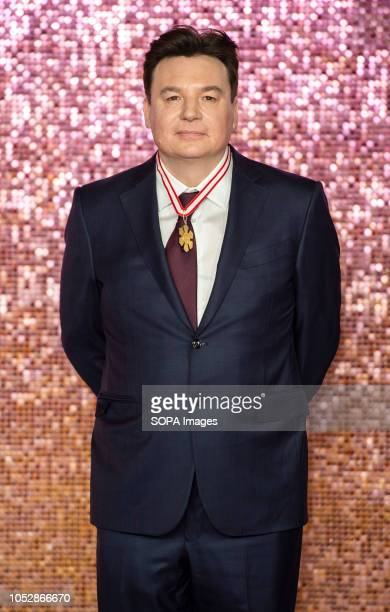 Mike Myers attends the World Premiere of 'Bohemian Rhapsody' at SSE Arena Wembley