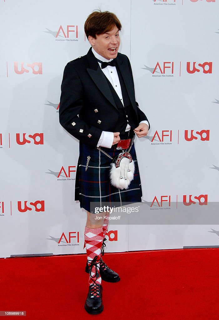 Mike Myers during 34th Annual AFI Lifetime Achievement Award: A Tribute to Sean Connery - Arrivals at Kodak Theatre in Hollywood, California, United States.