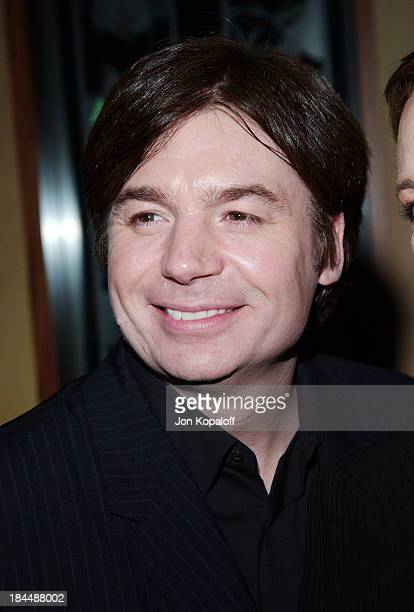 """Mike Myers during DreamWorks Celebrates The DVD Release of """"Shrek 2"""" at Spago in Beverly Hills, California, United States."""