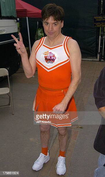 Mike Myers during Nickelodeon's 17th Annual Kids' Choice Awards Backstage at Pauley Pavillion in Westwood California United States