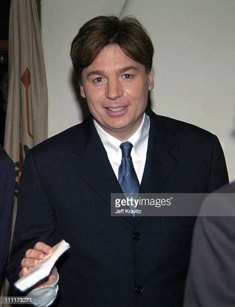 Mike Myers during Shoah Foundation Exclusive Event at Amblin Entertainment on Universal Studios in Universal City California United States