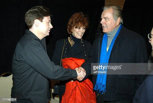 Mike Myers Jill St John Robert Wagner during US Comedy Arts Festival AFI Star Award to Mike Myers Award at St Regis in Aspen CO United States