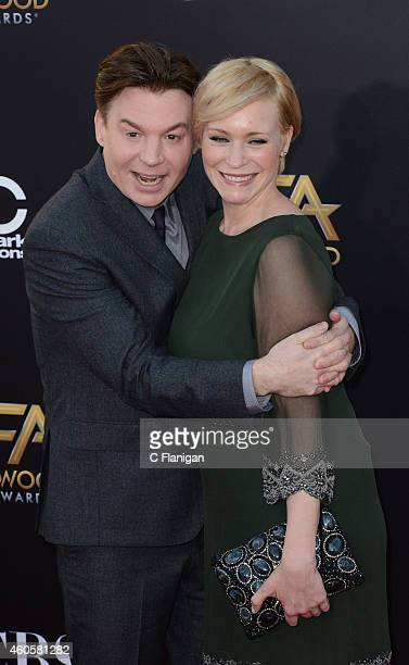 Mike Myers Kelly Tisdale attends the 18th Annual Hollywood Film Awards at The Palladium on November 14 2014 in Hollywood California