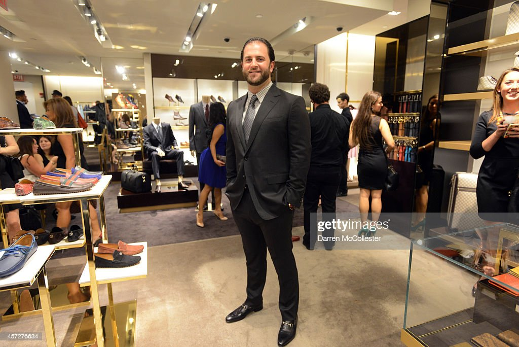 Gucci Hosts Private Cocktail Party In Honor Of Mike Napoli, Benefiting Boston Children's Hospital