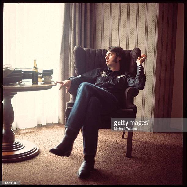 Mike Nesmith formerly of the Monkees portrait London 1970