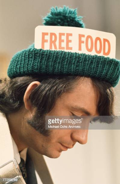 Mike Nesmith on the set of the television show The Monkees in May 1967 in Los Angeles California