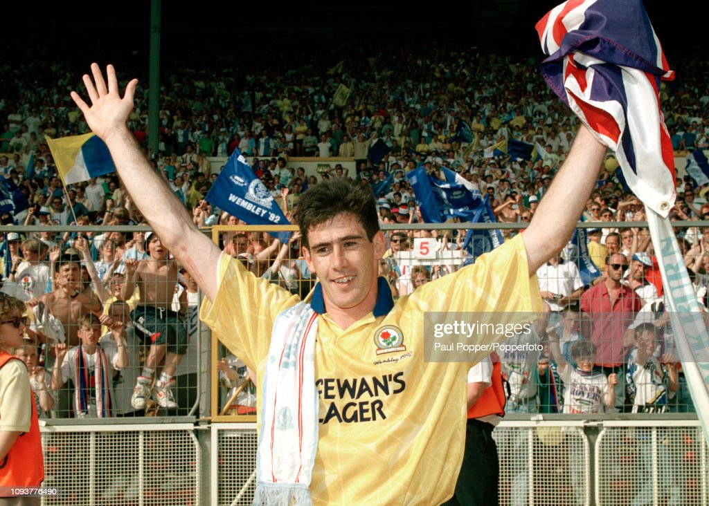 Blackburn Rovers v Leicester City - 1992 Barclays League Division Two Play Off Final : News Photo