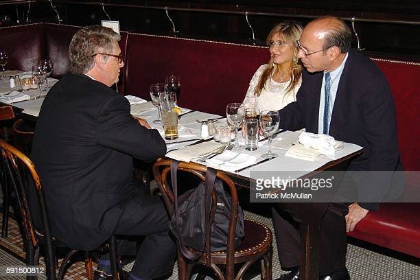 Mike Nichols, Marisa Starr and Kenneth Starr attend FRIENDS IN DEED Spring Benefit Dinner Honoring BOBBI BROWN and ROSS KLEIN at Balthazar on June...