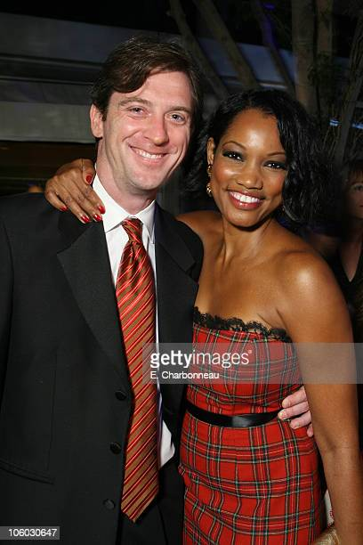 Mike Nilon and Garcelle Beauvais during Entertainment Tonight/PEOPLE Magazine Emmy Party at Mondrian Hotel in West Hollywood, California, United...